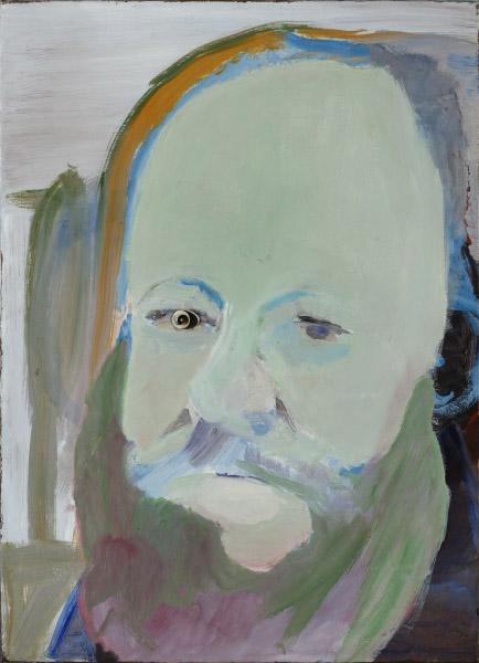 Emo Verkerk, Studie voor Portret van Edward Lear, 1985.